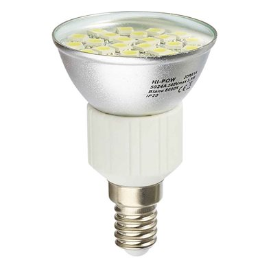 Ampoule LED SMD E14 (eq. 31 W) - 120° Dimmable