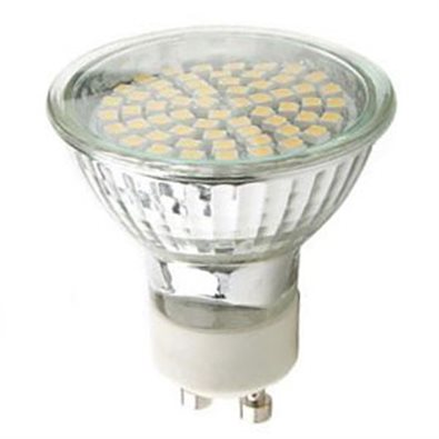 Spot LED SMD GU10 3W (eq. 30 W) - 120° Dimmable