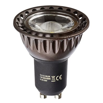 Spot LED COB GU10 7W (eq. 50 W) - 45° Dimmable