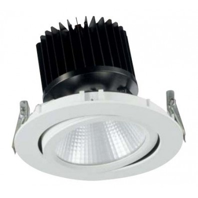 Spot led COB encastrable rond 40 watt orientable | Led Flash