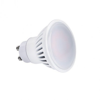 Spot led GU10 7 watt (eq. 50 watt) Finition Blanc