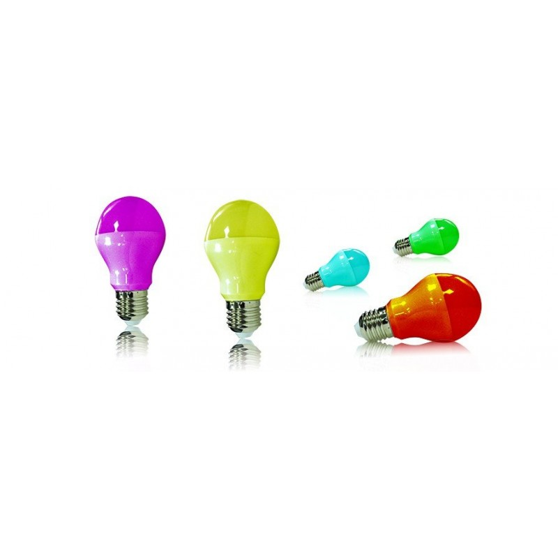 Ampoule led e27 deco for Ampoule de couleur castorama