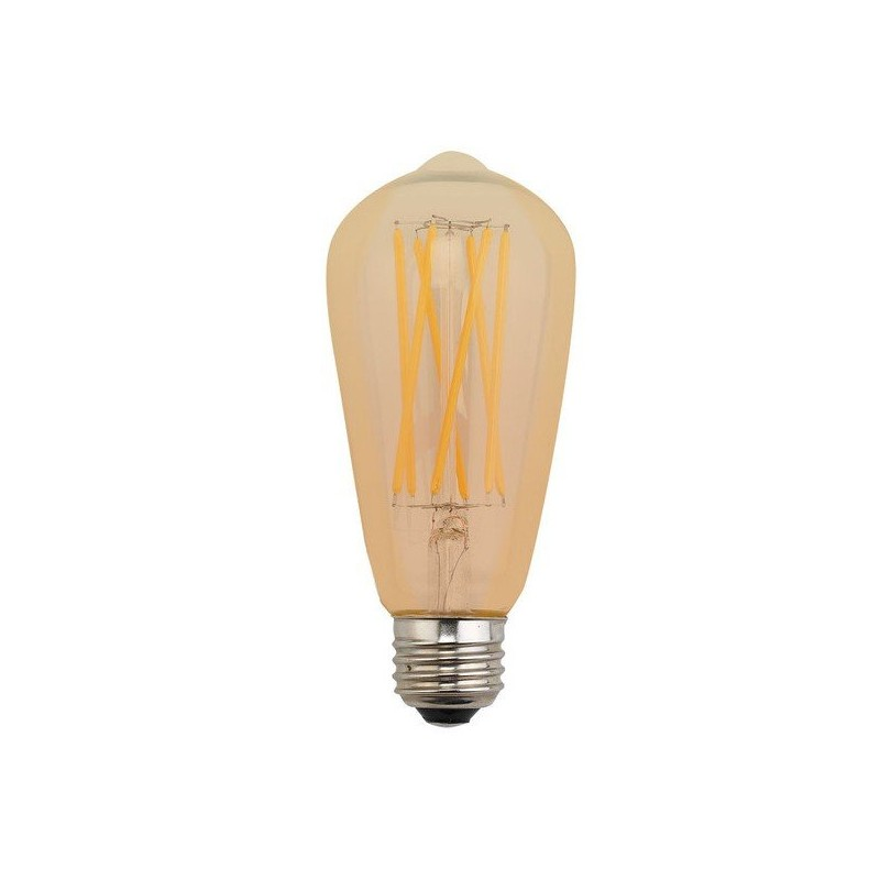 ampoule led filament e27 7 5w ambr dimmable achat ampoule led filament. Black Bedroom Furniture Sets. Home Design Ideas