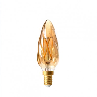 Ampoule led filament E14 ambrée Girard Sudron | Led Flash