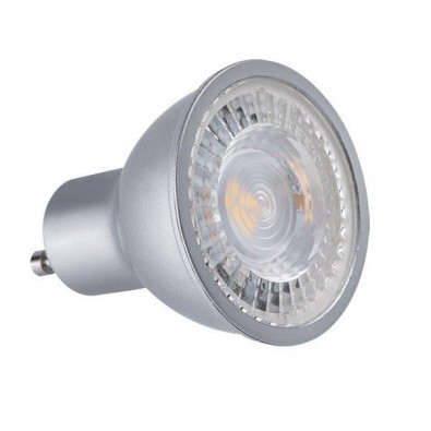 Spot led GU10 COB 7 watt - finition grise | Led-Flash