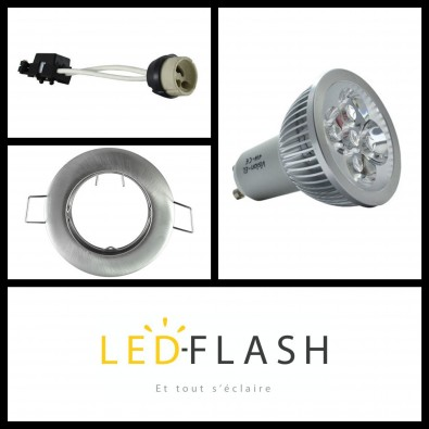 Spot LED GU10 4W | Led Flash