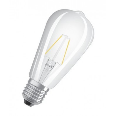 Ampoule led E27 2 watt (eq. 25 watt) Non Dimmable Retrofit OSRAM | Led Flash
