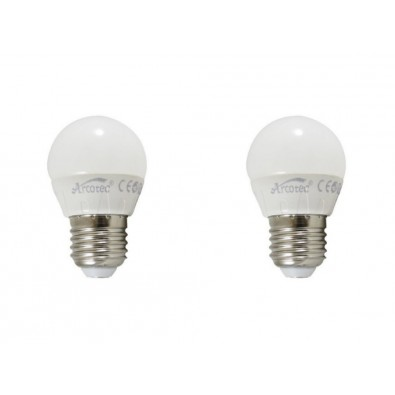 Pack de 2 ampoules led E27 4 watt (eq. 30 watt) | Led-Flash