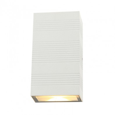 Applique Murale LED 2x5W Rectangulaire IP54 | Led Flash