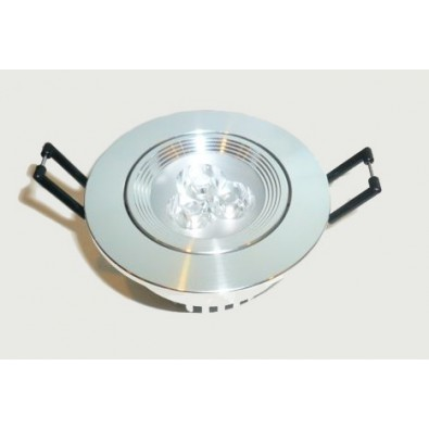 Spot led 3x1 watt (eq. 30 watt) Encastrable rond | Led Flash