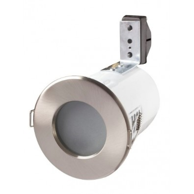 Support de spot étanche IP65 - anti-feu - chrome | Led Flash