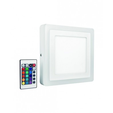 Applique LED COLOR+ - Plafonnier Carré 400mm 42 watt