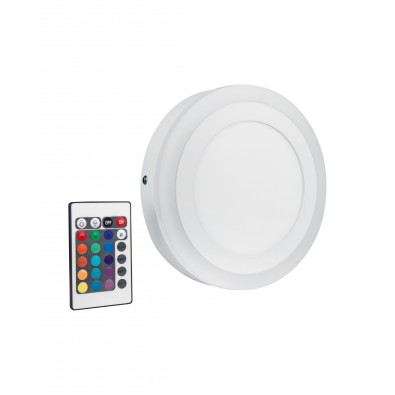 Applique LED COLOR+ - Plafonnier Rond 400mm 38 watt