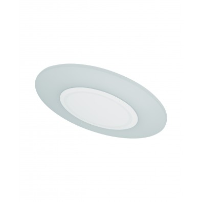 Applique LED FLAT - Plafonnier Diam 380mm 20 watt blanc chaud