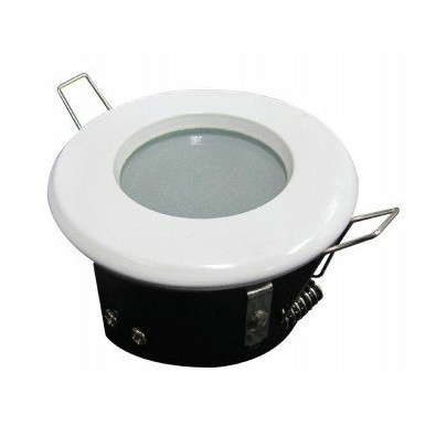 Support spot led ip65ip65 finition blanche achat support for Spot led etanche salle de bain