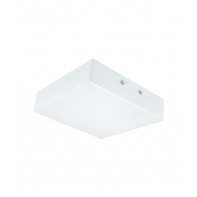 LUNIVE QUADRO 19 watt - applique ou plafonnier LED 200x200mm