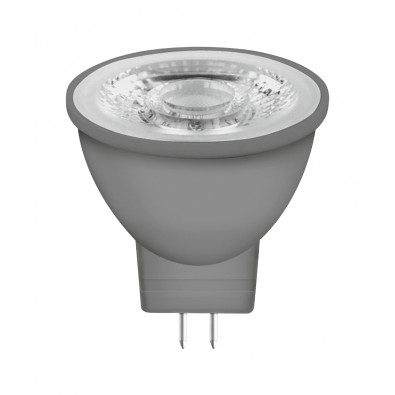 Spot LED MR11 GU4 30° verre variable 3,3 watt (eq. 20W) blanc chaud
