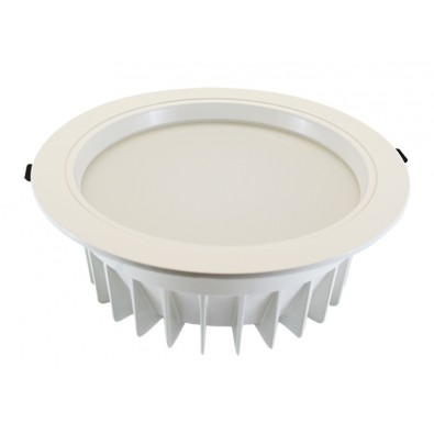 Downlight LED Blanc Rond 230mm 28W IP54