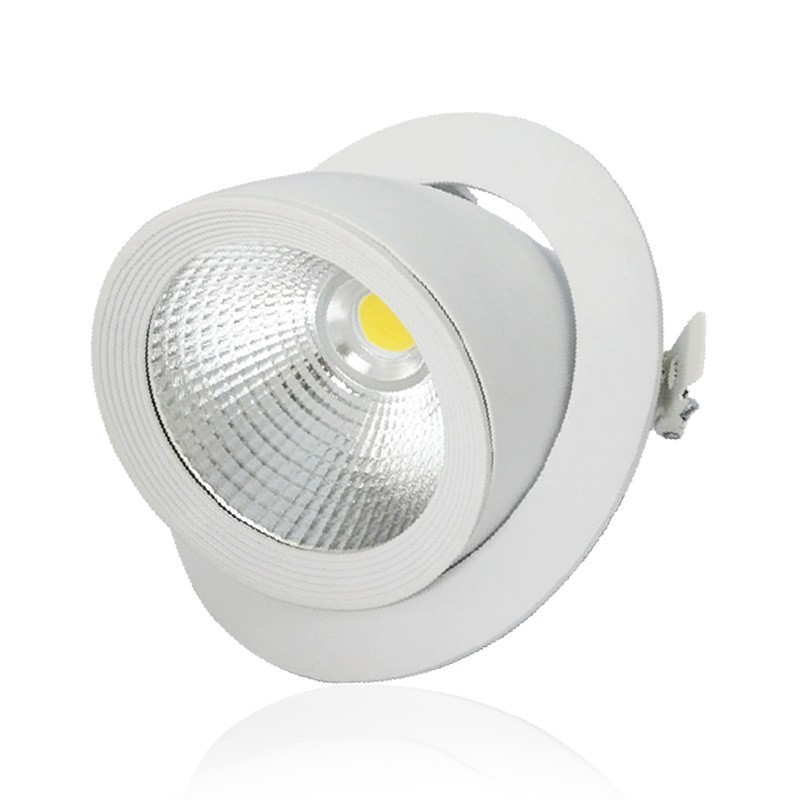 spot led escargot orientable 20w led flash. Black Bedroom Furniture Sets. Home Design Ideas