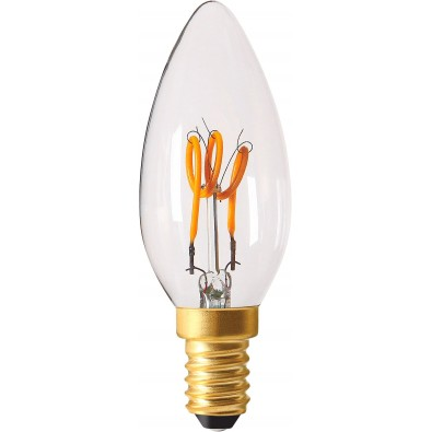 Ampoule led E14 Twisted & Loop 2 watt (eq. 10 watt)